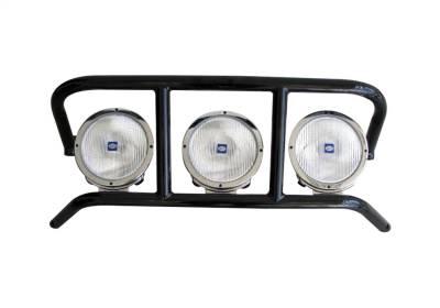 Lighting - Nfab Lighting - N-Fab - NFAB  DRP Light Cage, Light Tabs, Gloss Black