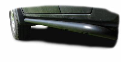 Other Steps - NFab Other Steps - N-Fab - N-Fab  RKR Rock Rails Cab Length; 1.75 in. Rails; Textured Black; Steps Not Included;