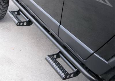 Other Steps - NFab Other Steps - N-Fab - N-Fab  RKR Rails Cab Length Textured Black