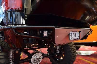 Rear - Nfab Rear Bumpers - N-Fab - NFAB  RBS Rear Bumper, PreRunner Style, Gloss Black