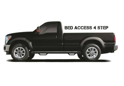 Drop Steps - Nfab Drop Steps - N-Fab - N-Fab  Nerf Step Bed Access Textured Black
