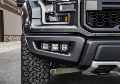 Lighting - Nfab Lighting - N-Fab - NFAB  Fog Light Mounts, Multi-Mount System (MMS) , Textured Black