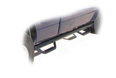 Drop Steps - Nfab Drop Steps - N-Fab - NFAB  Nerf Step, Bed Access, Gloss Black