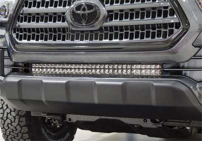N-Fab - N-Fab  LBM Bumper Mounts Direct Fit LED Textured Black