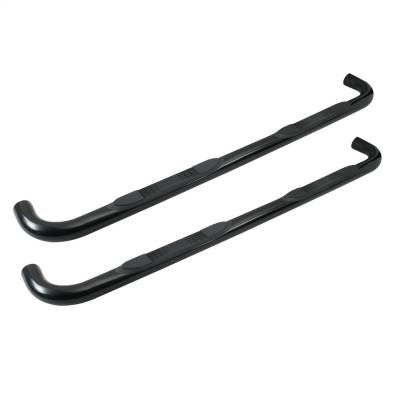 TUFF BAR 3in Step Bar Round Ram 1500 Crew Cab 09-19 Classic; 2500/3500 Crew Cab 10-19 (excl Cab Chassis W/Def Tanks) Black (1-5653)