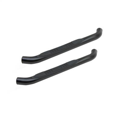 Round Steps - Tuff Bar Round Steps - Tuff Bar - TUFF BAR 3in Step Bar Round Colorado Reg Cab 04-12; Canyon Reg Cab 04-12 Black (1-5313)
