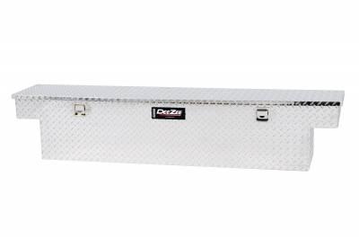 Aluminum - DeeZee Cross Boxes Aluminum - Dee Zee - DEEZEE TRUCK BED RAIL TO RAIL TOOL BOX-SPECIALTY NARROW BT ALUM (DZ6163N)
