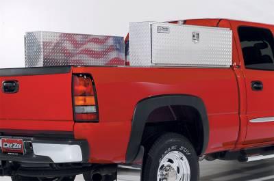 Steel - DeeZee Side Mount Steel - Dee Zee - Truck Bed Side Rail Tool Box