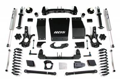 BDS - BDS Suspension Lift Kit - 15-18 GM SUV 6in w/AutoRide - Cast (737H)