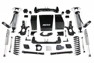 "BDS - BDS Suspension Lift Kit - 15-18 GM1500 SUV 6"" -Cast Steel UCA (731F)"