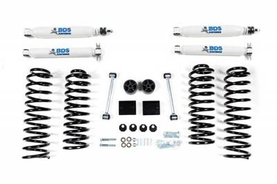 "Lifts - BDS Lifts - BDS - BDS  2"" LEVEL KIT  2007-2011  JEEP JK  4DR  (1402H)"