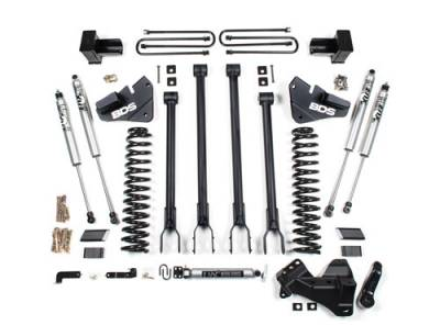 "Lifts - BDS Lifts - BDS - BDS  4""  4-LINK LIFT KIT  2017-2019  F250 / F350   (1537H)"