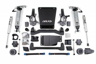 BDS - BDS Suspension Lift Kit - 4in Front C/O /2in Rear Spacer (188F)