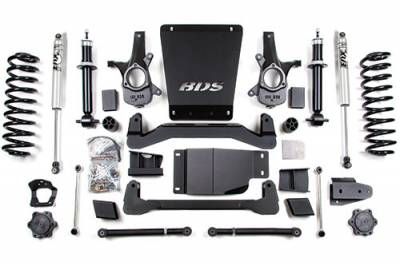 BDS - BDS Suspension Lift Kit - 6in Front/5.5in Rear Spring (178H)