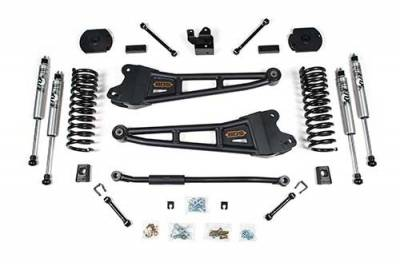 "Lifts - BDS Lifts - BDS - BDS  3"" RADIUS ARM LIFT  2014-2018 RAM 2500 W/REAR COIL SPRINGS  4WD  DIESEL  (1624H)"