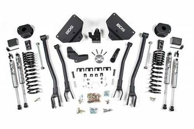 "Lifts - BDS Lifts - BDS - BDS  4""  4-LINK LIFT KIT 2014-2018 RAM 2500  W/ REAR AIR RIDE  4WD  GAS  (1634H)"