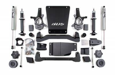 BDS - BDS Suspension Lift Kit - 4in Front/2in Rear Spacer (188H)