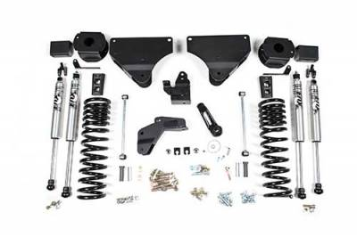 """Lifts - BDS Lifts - BDS - BDS  4"""" LIFT KIT  2014-2018 RAM 2500  W/ REAR AIR RIDE  4WD  GAS  (1633H)"""