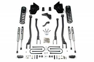 """Lifts - BDS Lifts - BDS - BDS  5.5""""  4-Link Lift Kit  2013-018 Ram 3500 w/out Air Ride  4WD Gas  (1608H)"""