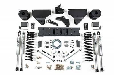 "Lifts - BDS Lifts - BDS - BDS  5.5"" RADIUS ARM DROP LIFT KIT  2014-2018 RAM 2500  W/ REAR AIR RIDE  4WD  GAS  (1629H)"