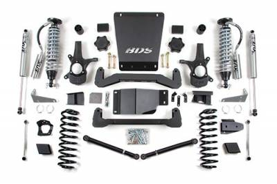 BDS - BDS Suspension Lift Kit - 6in Front C/O /4in Rear (178F)
