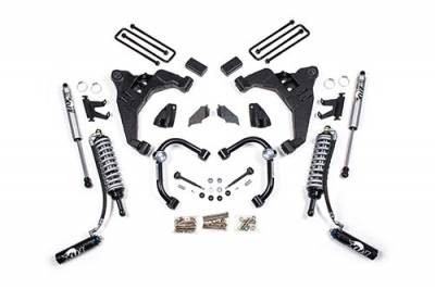 BDS - BDS Suspension Lift Kit - 2.5in Front C/O Conversion /2in Rear w/o Overload (724FDSC)