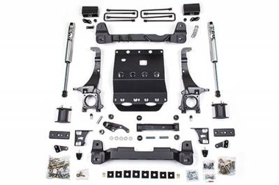 BDS - BDS Suspension Lift Kit - 4in Front /3in Rear Block (821H)
