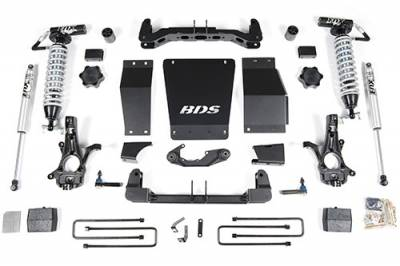 BDS - BDS Suspension Lift Kit - 4in Front C/O /2in Rear Block (712F)