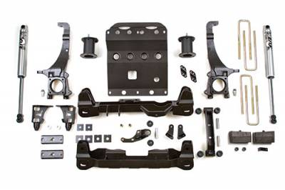 BDS - BDS Suspension Lift Kit - 4in Front/3in Rear Block (816H)