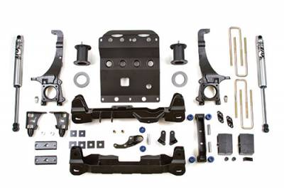 BDS - BDS Suspension Lift Kit - 6in Front /4in Rear Block (815H)
