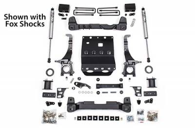 BDS - BDS Suspension Lift Kit - 6in Front /4in Rear Block (820H)