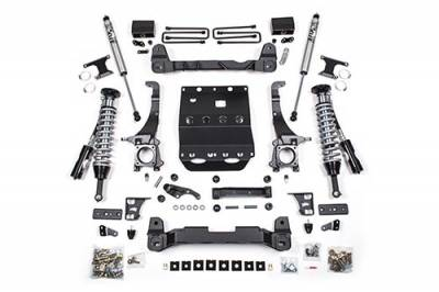 BDS - BDS Suspension Lift Kit - 6in Front C/O /4in Rear Block (820F)