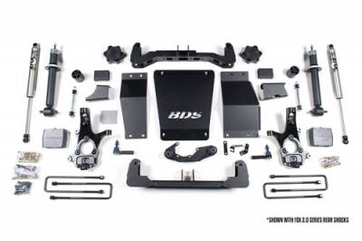 BDS - BDS Suspension Lift Kit - 6in Front/4in Rear Block (710H)