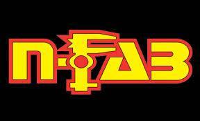 Misc. - NFab Misc. Exterior - N-Fab - NFAB  Aluminum Badge, Flat, Gloss Black