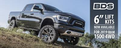 "- BDS - BDS - Suspension 2019 Ram 1500 5"" Rear Coil Box Kit (032508)"
