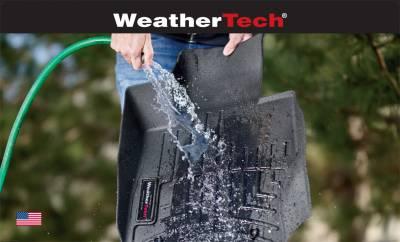 Weathertech - WeatherTech Front 3D Floor Mats 2019 + Ram 1500 Quad & Crew Cab Black (4414281IM)