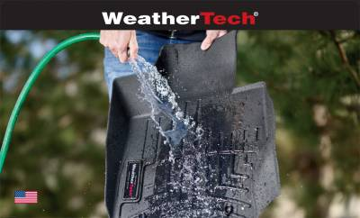Weathertech - WeatherTech Front 3D Floor Mats Black (4414361IM)