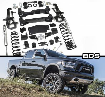 """BDS - BDS 2019 Ram 1500 4wd 6"""" Suspension System (1639F)"""