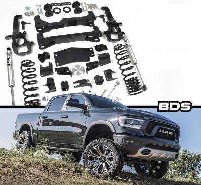 "BDS - BDS 2019 Ram 1500 w/22"" Wheels 4"" Air Ride Suspension (1642H)"