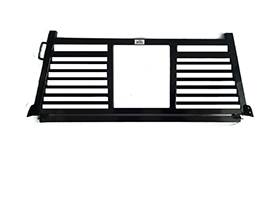 Roughneck - Roughneck  Headache Rack - 1 Piece Welded - Short Angle Split Louver  (BHRSASL-GM19)