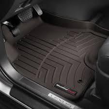 Weathertech - Weathertech  Rear Floor Liner  -  2019+  GM  1500 Double Cab - Cocoa  (4714368)