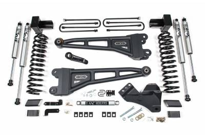 "BDS - BDS  4"" Radius Arm Kit w/FOX Shocks  - 2020+  Super Duty  (Gas)  (1550FS)"