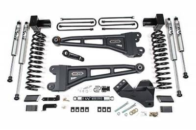 "BDS - BDS  4"" Radius Arm Kit  w/FOX DSC Coil-Overs  -  2020+ Super Duty  (1551FDSC)"