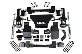 "Lifts - BDS Lifts - BDS - BDS   2"" LEVEL KIT W/ BDS SHOCKS -2019+ Silverado/Sierra  1500 4WD  (746H)"