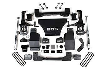 """BDS - BDS  4"""" Lift Kit  2019+ Silverado/Sierra 1500 4WD (748H)"""
