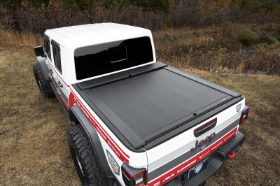 Retractable - Roll-n-Lock Manual Bed Covers - Roll N Lock - Roll-N-Lock M-Series Retractable Bed Cover  2020+  Gladiator  5' Bed  (LG495M)