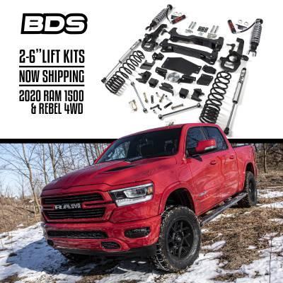 "BDS - BDS  2"" DSC Coil Over Lift  2020 Ram 1500 & 1500 Rebel  4WD  (1664FDSC)"