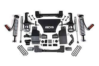 "Lifts - BDS Lifts - BDS - BDS  2.5"" Coilover Lift Kit  w/ FOX Shocks  2019+  Silverado/Sierra 1500  (754F)"
