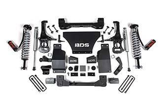 """BDS - BDS  2.5"""" Coilover Lift Kit  w/ FOX Shocks  2019+  Silverado/Sierra 1500  (754F)"""