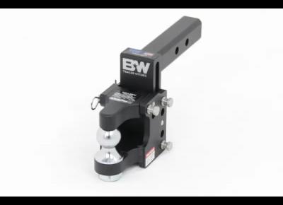 - B&W - B&W Tow & Stow 2 In Ball/Pintle Combo Black (TS10055)